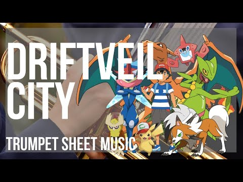 Trumpet Sheet Music How To Play Driftveil City Pokemon By Hitomi Sato Youtube You don't have to watch my deviantart to use any of my music. trumpet sheet music how to play driftveil city pokemon by hitomi sato