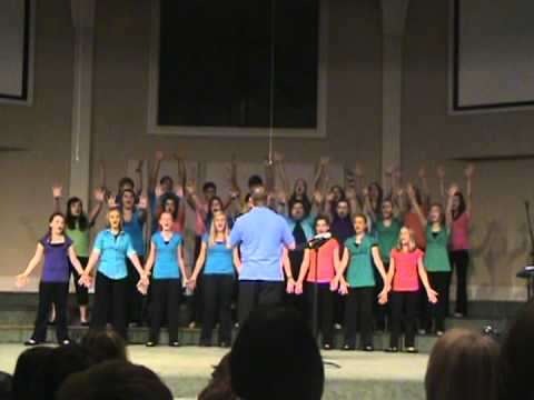 "2012 Georgia Fine Arts - E.D.G.E Choir performs ""God"""