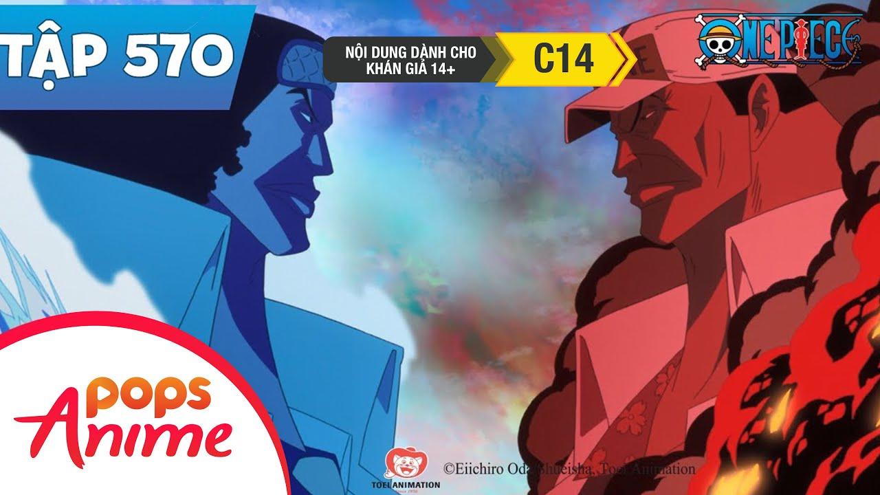 One Piece Tập 570 - Băng Mũ Rơm Kinh Ngạc! Thủy Sư Đô Đốc Hải Quân Tân Nhiệm! - Đảo Hải Tặc