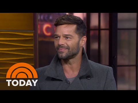 Ricky Martin: My New Album Is 'Baby-Making Music'   TODAY