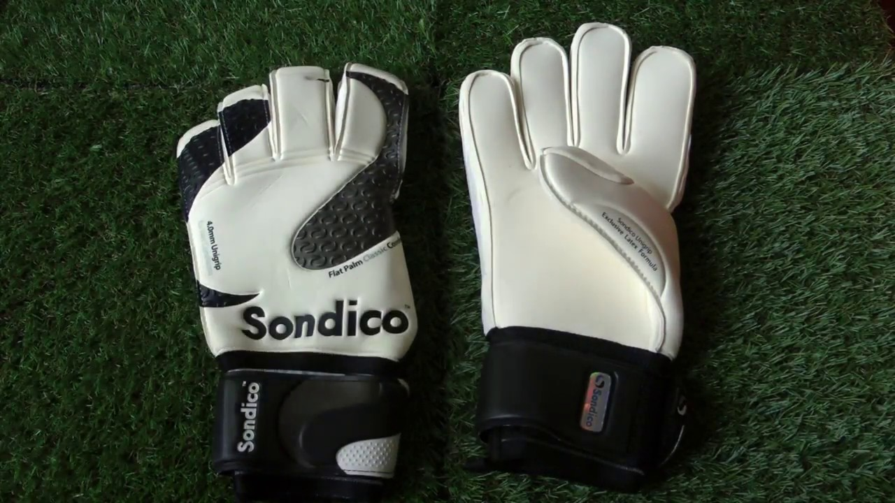 3f7838e7b87 Sondico Flat Palm Classic IGS WIAP Goalkeeper Gloves Preview - YouTube
