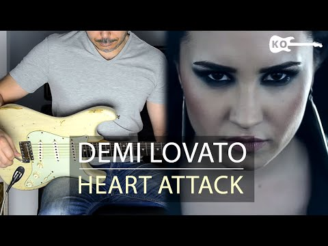 Demi Lovato - Heart Attack - Electric Guitar Cover by Kfir Ochaion