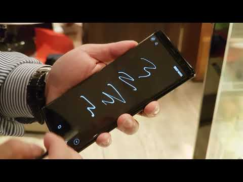 Samsung Galaxy Note 8 - S Pen Works with Always on Display
