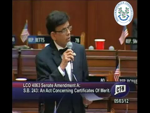 Rep. Prasad Srinivasan, MD, Speaks on a Proposal to Amend th