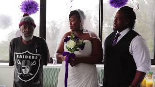 She wanted her father to see her get married, so she moved the wedding to his hospital
