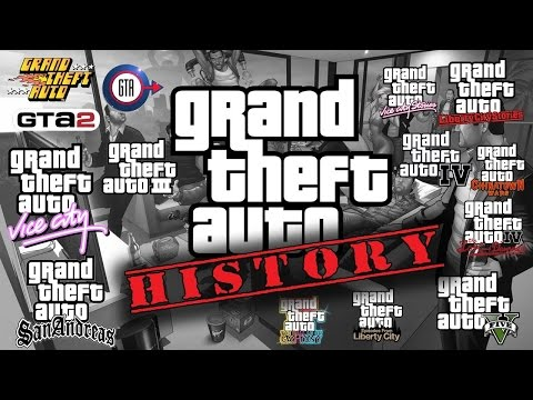 History Of Grand Theft Auto 1997- 2015   Sejarah GTA Dari Du
