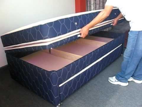 cama divan abatible youtube