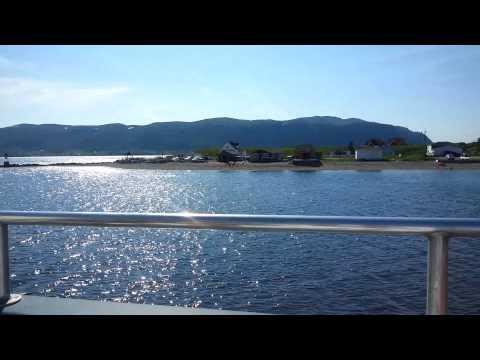 Boat ride at Bonne Bay NFLD