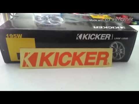 ลำโพง6นิ้วติดรถยนต์ขอนแก่น KICKER ES.65 ราคาถูก