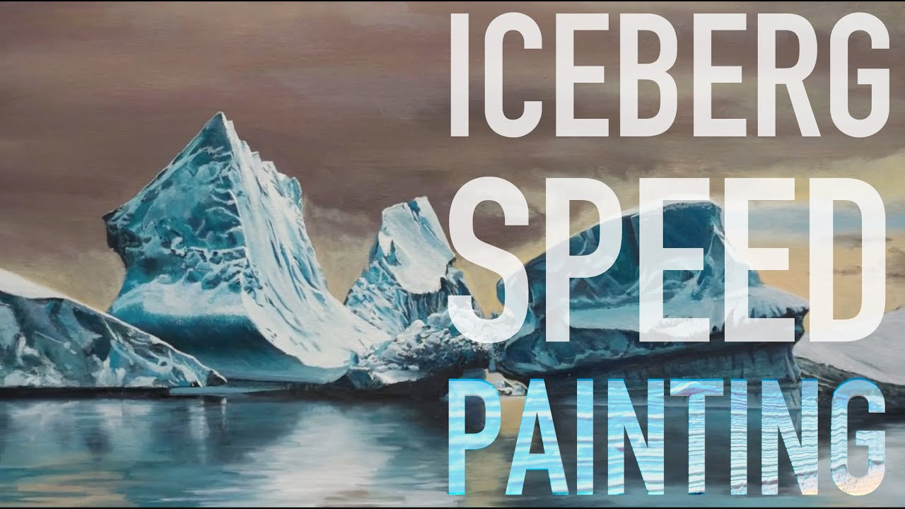 How To Make Icebergs Painting