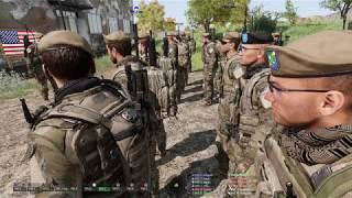 Arma 3 MILSIM gameplay, 75th Rangers assault INS training grounds