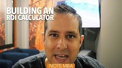 Building an ROI Calculator - Note Investing Podcast