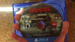 Gravel PS4 Unboxing