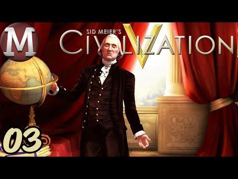 Civilization 5 - Let's Play America - Vox Populi - Part 3