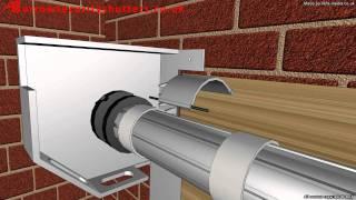 An electric operated garage roller shutter door (garage door company)