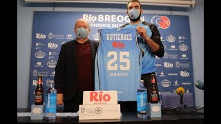 Video Presentación de Israel Gutiérrez como xogador do Leche Río Breogán