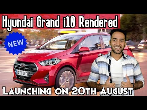Hyundai Grand i10 Rendered - Price in India, Launch Date, Features, Engine, Design in HINDI