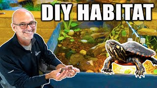 How to Make a *TURTLE POND HABITAT*