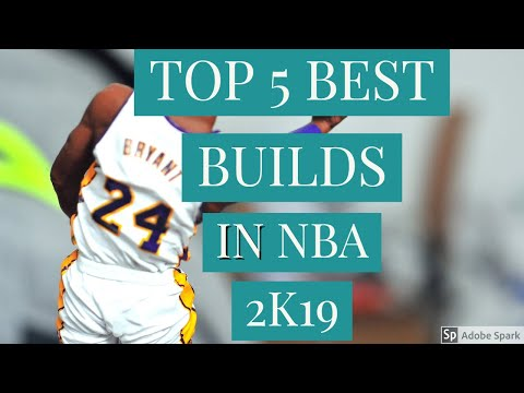 TOP 5 BEST BUILDS IN NBA 2K19. THESE BUILDS ARE CRAZY!!!