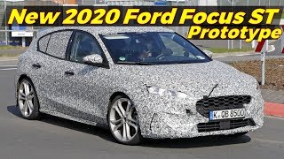 All new 2020 Ford Focus ST Prototype  spied at the Nurburgring