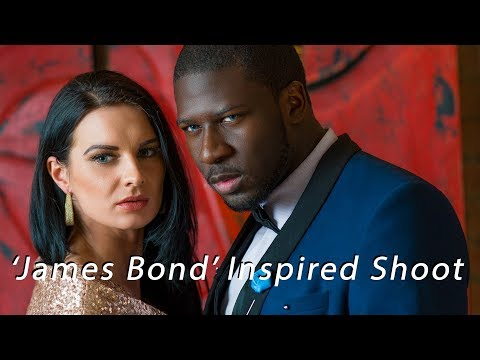 'James Bond' Inspired Studio shoot with Off Camera Flash - Sony A7RII - BTS
