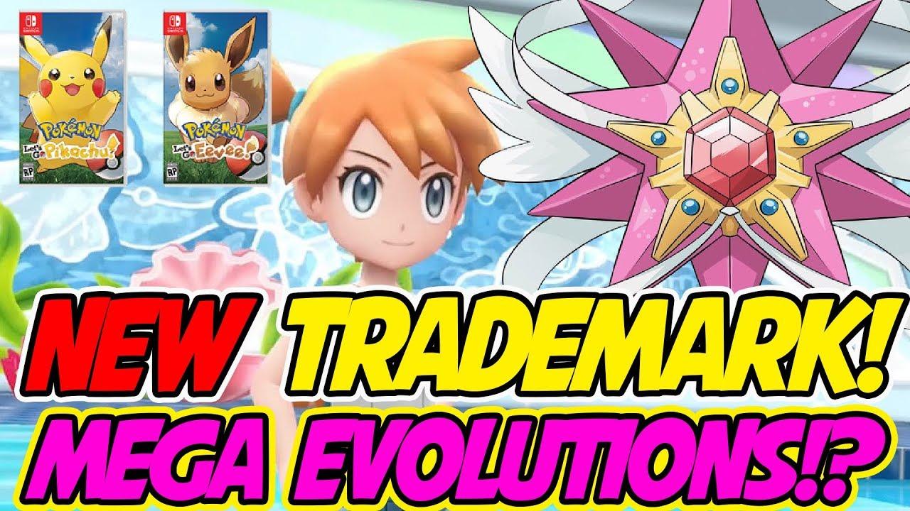 New trademarks is mega evolution in pokemon let 39 s go - Pokemon how to mega evolve ...