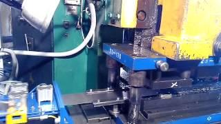 Пневматическая клещевая подача ленты в кривошипный пресс 80 тнс