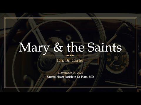 Mary & the Saints: RCIA Class 8