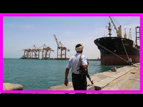 News today-Allied Saudi allows first aid ship in Yemen hodeidah Portal-local officials