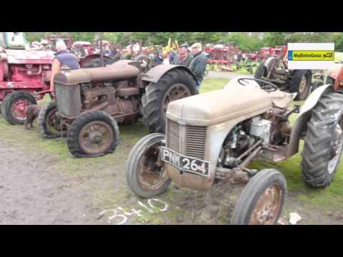 Zabytkowe traktory Cambridge Vintage Sale 2014. Classic tractors Cambridge Vintage Sale 2014