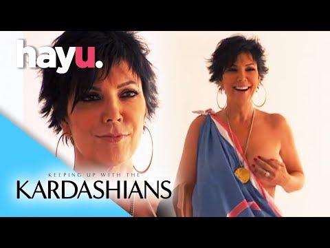 Kris's Revealing Photo Shoot   Keeping Up With The Kardashians