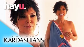 Kris's Revealing Photo Shoot | Keeping Up With The Kardashians