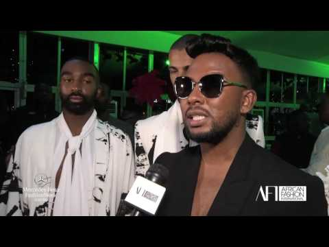 DAVID TLALE - AFI Mercedes Benz Fashion Week - JoBurg - August 2016