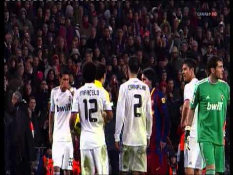 """Barcelona - Real Madid """" broncas del clasico"""" ( el dia despues 2010 )"""