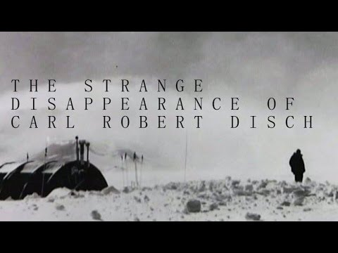 The Strange Disappearance of Carl Robert Disch