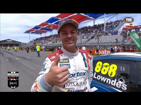 CRAIG LOWNDES - BREAKS ROUND START RECORD