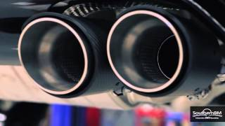 BMW M4 F82 Akrapovic Evolution performance exhaust install HD