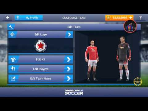 How to import Manchester United logo and kit in Dream League Soccer | By Warning!!!!HardcoreGamer.