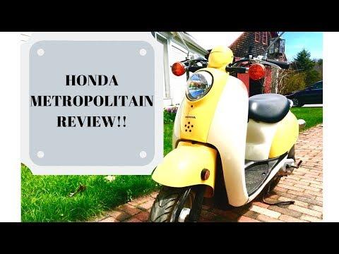 HONDA METROPOLITAN REVIEW!