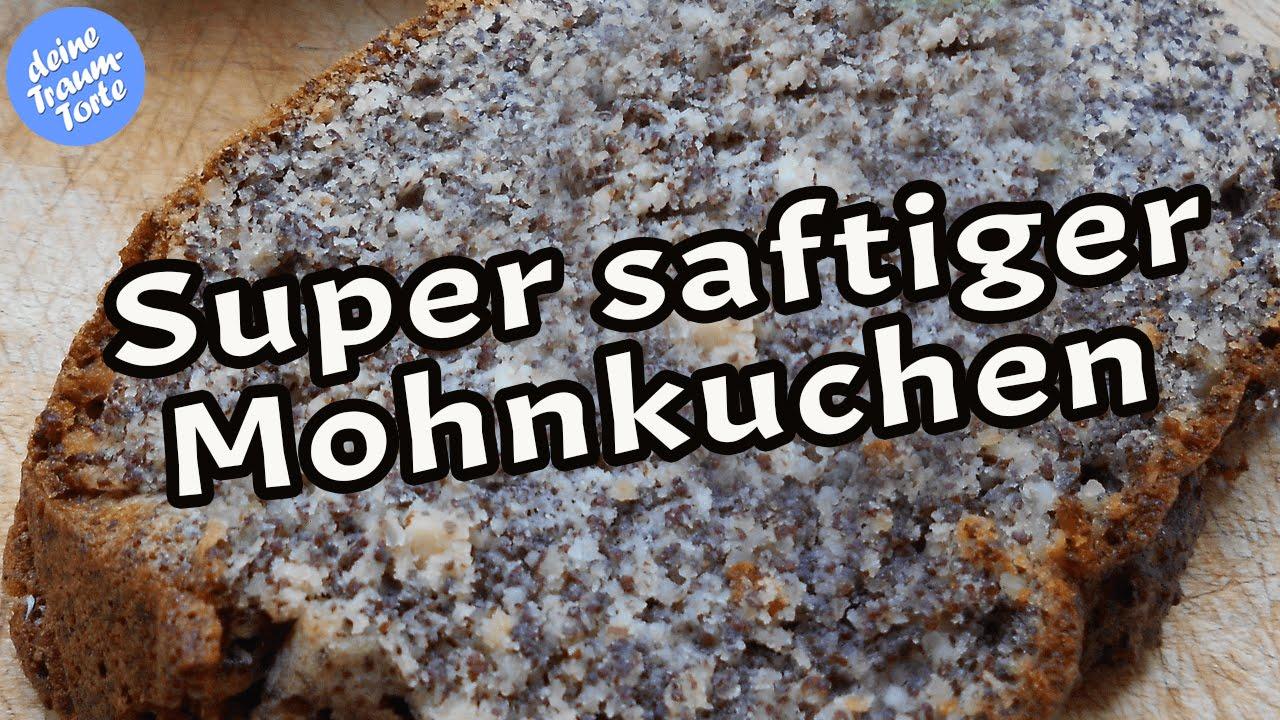 Super saftiger Mohnkuchen - Mohntorte - Einfache Rezepte - YouTube