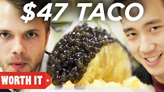 Video $47 Taco Vs. $1 Taco download MP3, 3GP, MP4, WEBM, AVI, FLV Februari 2018