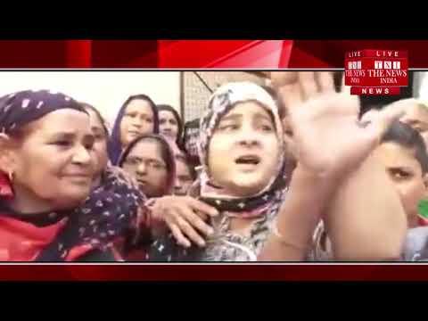 [ Ghaziabad ] गाजियाबाद में 7 साल की बच्ची का शव मस्जिद की छत पर मिलने के बाद तनाव का माहौल