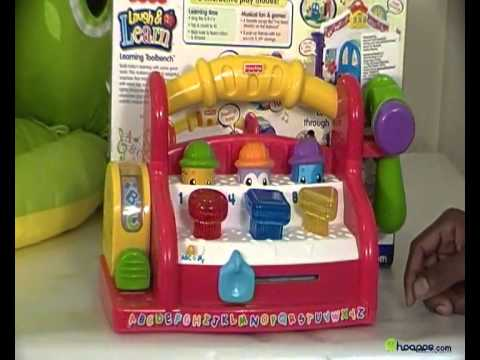 Fisher Price Laugh and Learn My First Tools Tool Bag