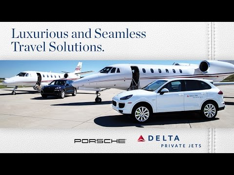 Delta Private Jets and Porsche North America Join Forces for Seamless Travel  - Long