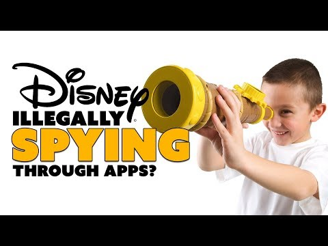 Disney's Illegal SPY Apps? - The Know Tech News