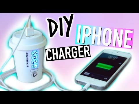 Diy Room Decorations Tumblr Iphone Charger Youtube