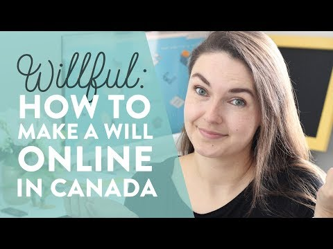 Willful Review: How To Make An Online Will In Canada