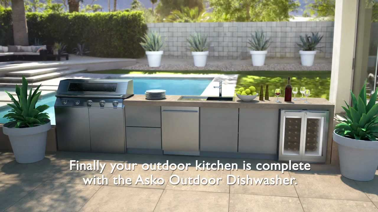 Asko Outdoor Dishwasher Animation You