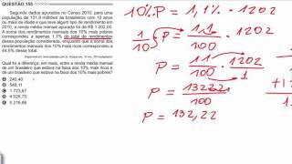 (Enem 2015/2016) Questão 155 Resolvida Matemática (Gabarito/Correção)