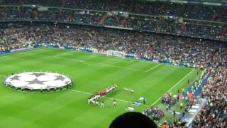 Real Madrid vs Legia Warszawa UEFA Champions league Himno La décima+Himno de la champions!!! ;)
